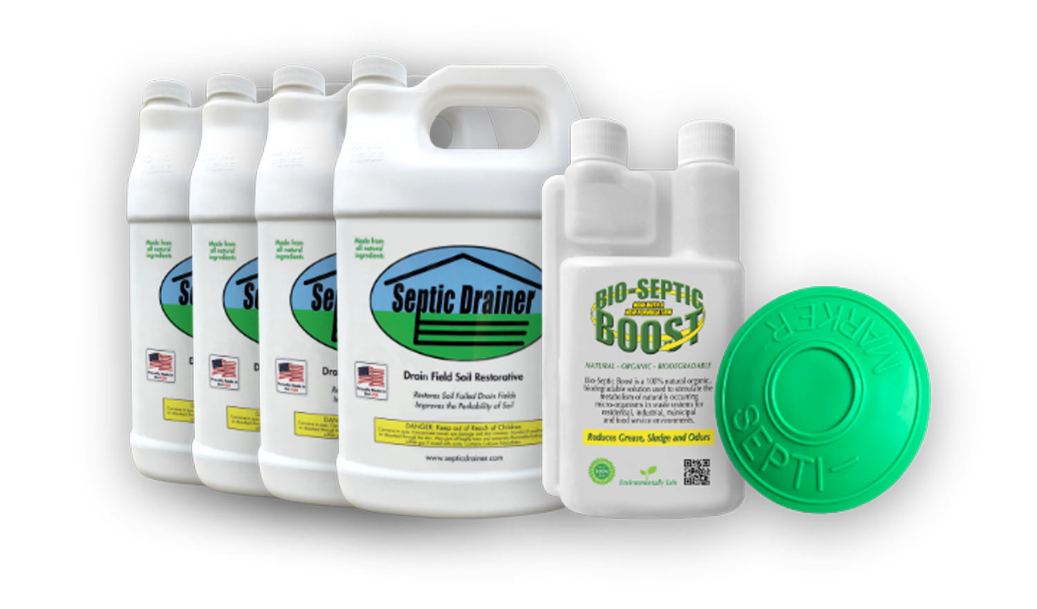 Septic Drainer Full Product Line