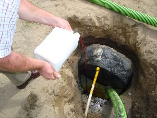 Septic Drainer In Tank