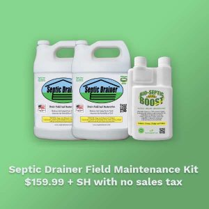 Septic Drain Field Maintenance kit