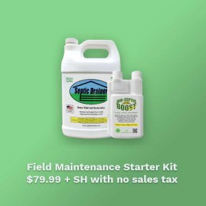 Septic Drain Field Maintenance Starter Kit